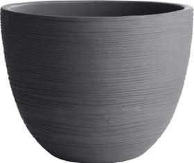 Pot à plante Iris Grosfillex 659575700000 Couleur Anthracite Taille ø: 30.0 cm x H: 22.8 cm Photo no. 1