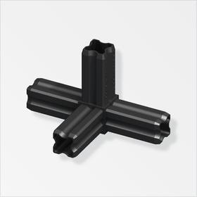 Connecteur-équerre 23.5 mm 90° PA noir alfer 605139100000 Photo no. 1