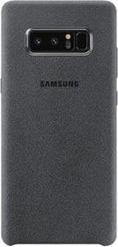 Alcantara Cover d.gris Coque Samsung 785300130370 Photo no. 1