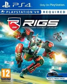 PS4 VR - RIGS Mechanized Combat League VR Box 785300121460 Photo no. 1