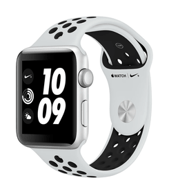 Watch Series 3 Nike+ GPS 42mm silver/platinum black