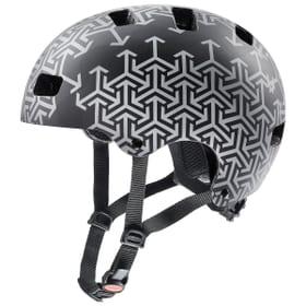 Kid 3 cc Casco da bicicletta Uvex 465028051020 Taglie 51-55 Colore nero N. figura 1