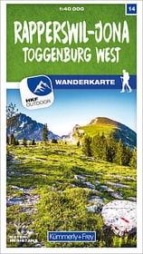 Rapperswil-Jona, Toggenburg West mappa escursionistica 785300159585 N. figura 1
