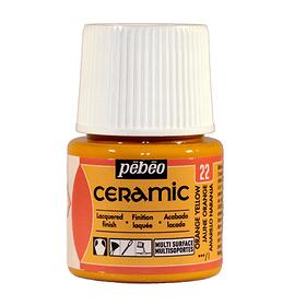 PÉBÉO Ceramic Keramikmalfarbe 22 Orange Yellow 45ml Pebeo 663510000200 Farbe Orange Bild Nr. 1