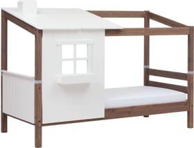 TREE HOUSE Demi-maison avec un lit simple Flexa 404985900000 Dimensions L: 112.0 cm x P: 210.0 cm x H: 154.0 cm Couleur Terre Photo no. 1