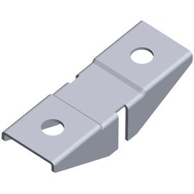 Aufsteckhalter 2-seitig für Holzböden Regalsysteme ELEMENTSYSTEM 603439300000 Bild Nr. 1