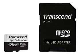 microSDXC Card 350V, 128GB SDXC inkl. Adapter microSD Karten Transcend 785300147310 Bild Nr. 1