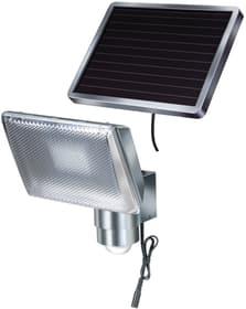 SOL 80 solaire Spot à LED Aluminium <IP44> avec le mouvement, sep.Solarmodul