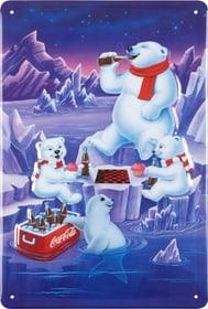 Werbe-Blechschild Coca Cola Eisbären 605067700000 Bild Nr. 1