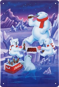 Lamiera Coca Cola Eisbären 605067700000 N. figura 1