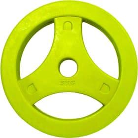 Aerobic Disc Gewichtsscheiben 5 kg Einzeln gelb Gewichtsscheiben Tunturi 463083900000 Bild-Nr. 1