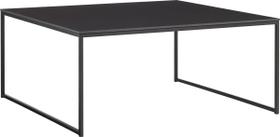 AVO Table basse 402141700000 Dimensions L: 90.0 cm x P: 90.0 cm x H: 39.8 cm Couleur Noir Photo no. 1