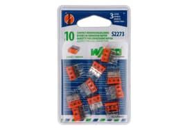 S2273 Compact, 3 ingressi, 10 pezzi Morsetti per connessione rapide Wago 613093900000 N. figura 1