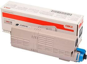 Toner noir 46490608 Cartouche de toner OKI 785300145259 Photo no. 1