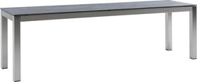 LOCARNO, 200 cm, struttura acciaio inox, piano Ceramica Panca 753193320020 Taglio L: 200.0 cm x L: 35.0 cm x A: 45.0 cm Colore Dark Night N. figura 1