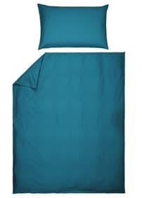 ROMANO Taie d'oreiller percale 451192610944 Couleur Turquoise Dimensions L: 100.0 cm x H: 65.0 cm Photo no. 1