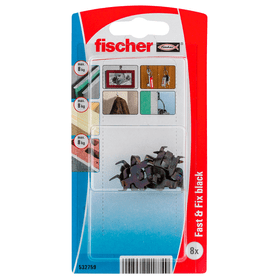 Fast&Fix schwarz Haken fischer 605434500000 Bild Nr. 1