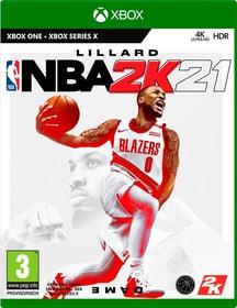 XONE - NBA 2K21 (D) Box 785300154447 Sprache Deutsch Plattform Microsoft Xbox One Bild Nr. 1