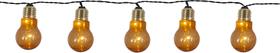 Glow 1 m Lichterkette Star Trading 613240700000 Bild Nr. 1
