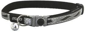 Rogz Katzenhalsband Nightcat schwarz Halsband 785300150013 Bild Nr. 1