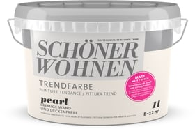 Trend Wandfarbe matt Pearl 1 l Schöner Wohnen 660963100000 Farbe Pearl Inhalt 1.0 l Bild Nr. 1