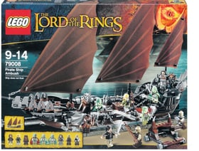 W13 LEGO LORD RINGS BATEAU PIRATE 79008 Lego 74783360000013 Photo n°. 1