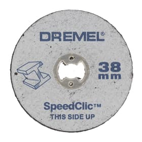 SC Disques à tronçonner pour la découpe des métaux 38 mm pack de 5 pcs. (SC456) Accessoires couper Dremel 616049400000 Photo no. 1