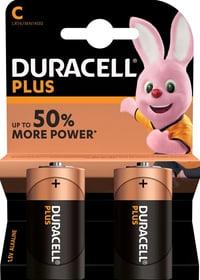 Plus Power C / LR14 2 pezzi pila Batterie Duracell 704742200000 N. figura 1