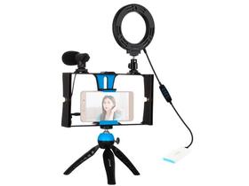 Vlogging Set 4 in 1 Lumière vidéo PULUZ 785300158386 Photo no. 1