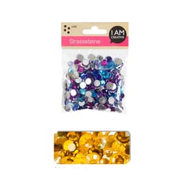 STRASS.ROND OR-MIX