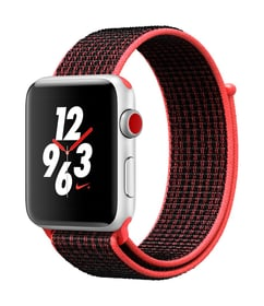 Watch Series 3 Nike+ GPS/LTE 42mm silver/bright crimson/black