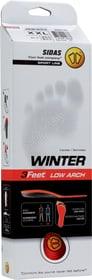 Winter 3 Feet Low Sport Einlegesohle Sidas 461684600530 Farbe rot Grösse L Bild-Nr. 1