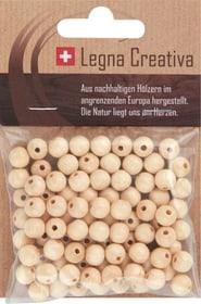 Boules en bois 8mm laqués 90 pc Legna Creativa 667029800000 Photo no. 1