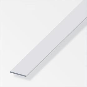Flachstange 5 x 20 mm silberfarben 1 m alfer 605107100000 Bild Nr. 1