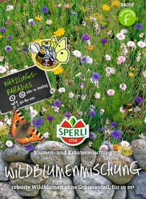 Wildblumenmischung Blumen- & Kräuterwiese Blumensamen Sperli 650178000000 Bild Nr. 1