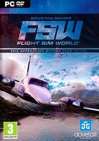 PC - Flight Simulator World  F Box 785300132325 N. figura 1
