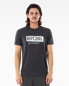 BOXED TEE T-Shirt Rip Curl 468130000383 Grösse S Farbe Dunkelgrau Bild-Nr. 1