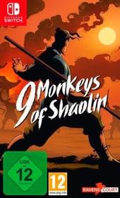 NSW - 9 Monkeys of Shaolin (D) Box 785300150890 Bild Nr. 1
