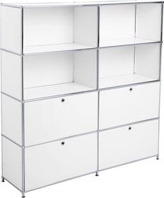 FLEXCUBE Scaffale 401908100000 Dimensioni L: 152.0 cm x P: 40.0 cm x A: 155.5 cm Colore Bianco N. figura 1
