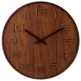 Orologio da parete Wood Wood Big Through Horologe murale NexTime 785300138504 N. figura 1