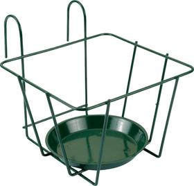 con ganci Supporto per vaso per fiori Do it + Garden 631339100000 Colore Verde Taglio L: 21.0 cm x P: 25.5 cm x A: 20.0 cm N. figura 1