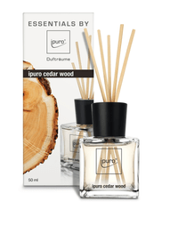 Cedar wood, 50ml Raumduft Ipuro 656137800005 Grösse B: 6.3 cm x T: 5.2 cm x H: 15.2 cm Farbe Braun Bild Nr. 1