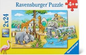 Willkommen im Zoo Puzzle Puzzle Ravensburger 748975600000 Bild Nr. 1