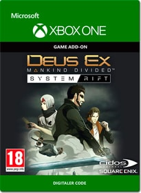 Xbox One - Deus Ex: Mankind Divided - System Rift Download (ESD) 785300137226 Photo no. 1
