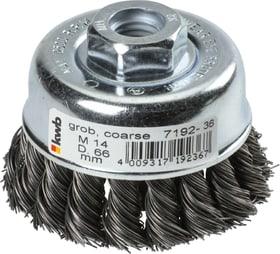 AGGRESSO-FLEX® Topfbürste, HSS Stahldraht, gezopft, Ø 66 mm kwb 610523700000 Bild Nr. 1