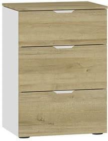 MODUL Table de chevet 404545700000 Dimensions L: 45.0 cm x P: 43.0 cm x H: 65.0 cm Couleur Chêne Photo no. 1
