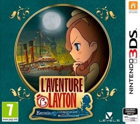 3DS - L'aventure Layton : Katrielle & la conspiration des millionnaires Box 785300129651 N. figura 1