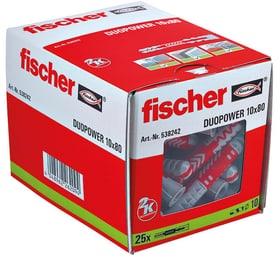 DUOPOWER 10 x 80 Universaldübel fischer 605437800000 Bild Nr. 1