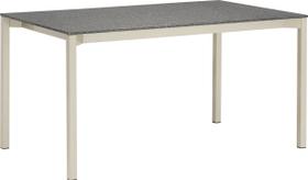 MALO Table au jardin 408012814003 Dimensions L: 140.0 cm x P: 80.0 cm x H: 75.0 cm Couleur SUPREME BLACK Photo no. 1