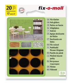 Filzgleiter 3 mm / Ø 17 mm 20 x Möbelgleiter Fix-O-Moll 607067200000 Bild Nr. 1